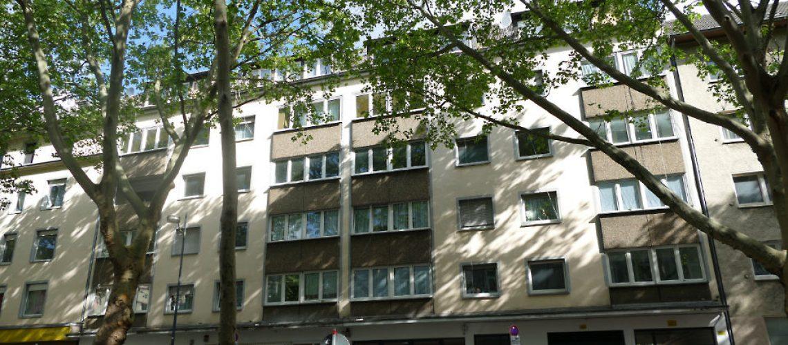 Häuserzeile Mallinckrodtstraße